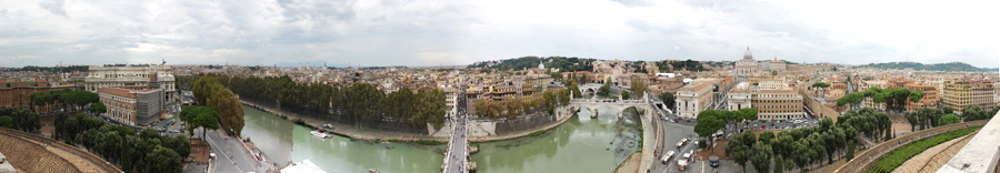 View from Castel St. Angelo