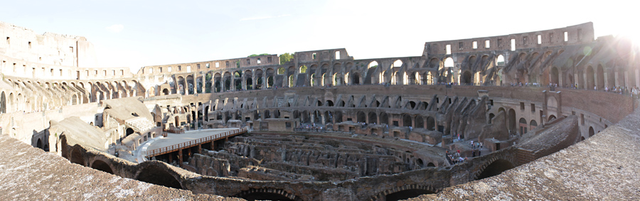 The inner Colosseum