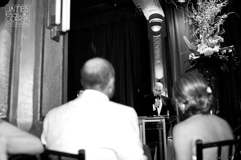 Lion d Or Montreal Wedding Photographer speeches