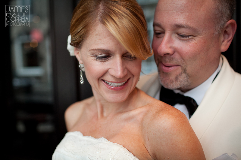 Hotel Nelligan Montreal Wedding Photographer bride and groom portraits