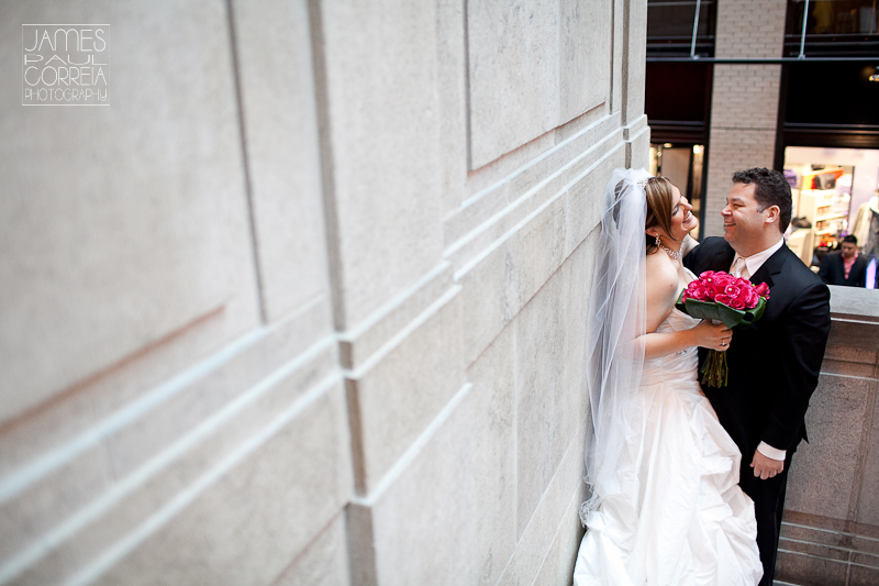world trade center montreal Wedding Photographer