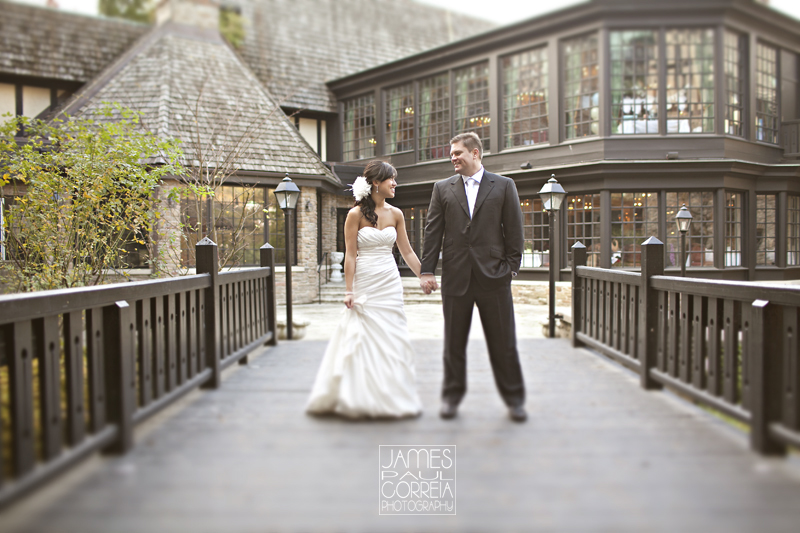 Old Mill Inn Toronto creative Wedding Photographer