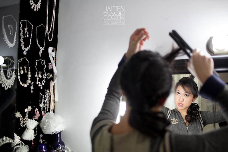 Toronto Wedding Photographer diy hair