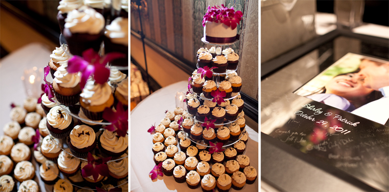 Old Mill Inn Toronto Wedding Photographer cupcakes