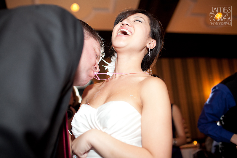 Old Mill Inn Toronto Wedding Photographer games at reception