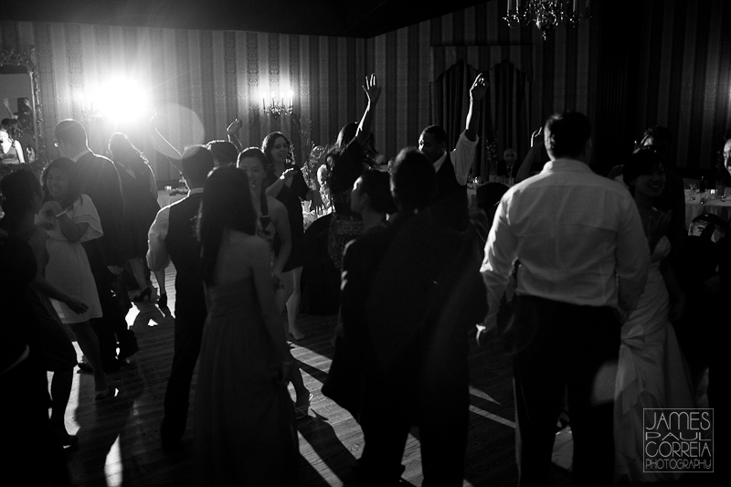 Old Mill Inn Wedding Photographer wild dance party