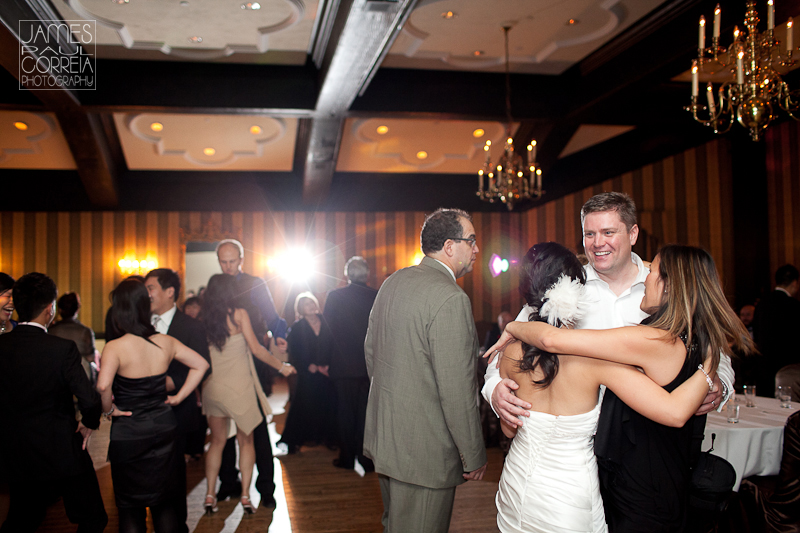 Old Mill Inn Wedding Photographer dancing reception