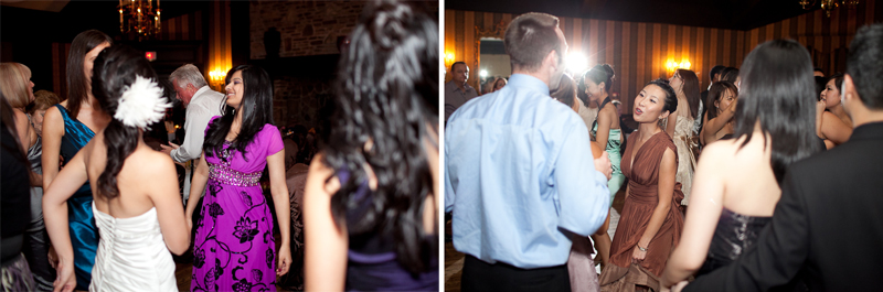 Old Mill Inn Toronto Wedding Photographer dancing at reception