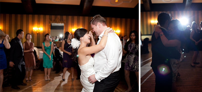 Old Mill Inn dancing Wedding Photographer