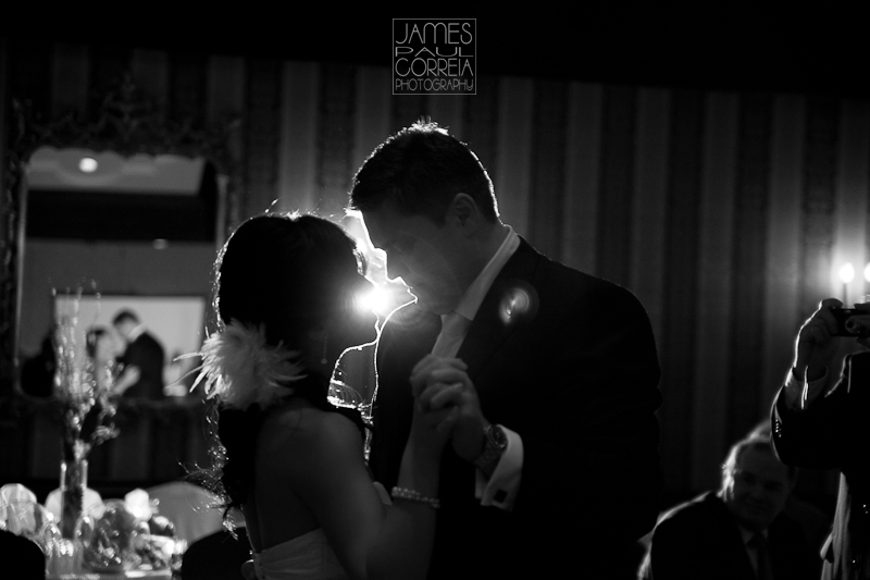Old Mill Inn Toronto Wedding Photographer bride groom dance