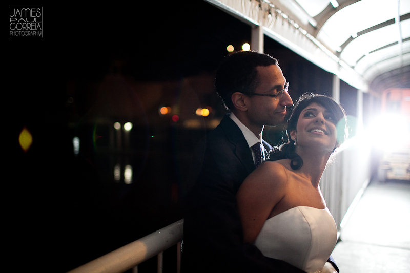 Atlantis Pavillions Toronto Wedding Photographer night bride and groom photo