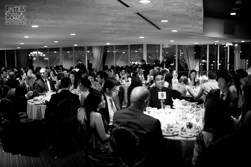 Atlantis Pavillions Toronto Wedding Photographer speech crowd