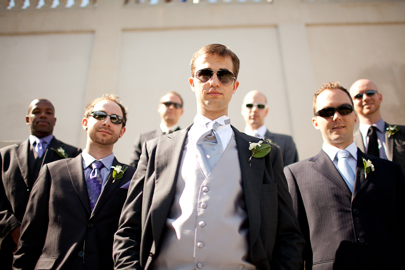 mount royal Montreal wedding photographer groomsmen