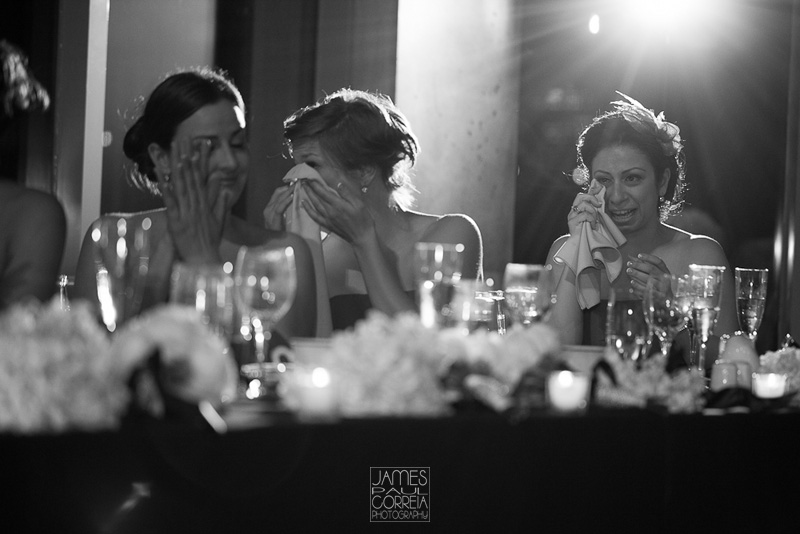 Ottawa Wedding Photography speech reaction