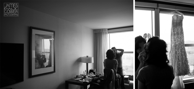 Novotel Montreal airport Wedding Photography