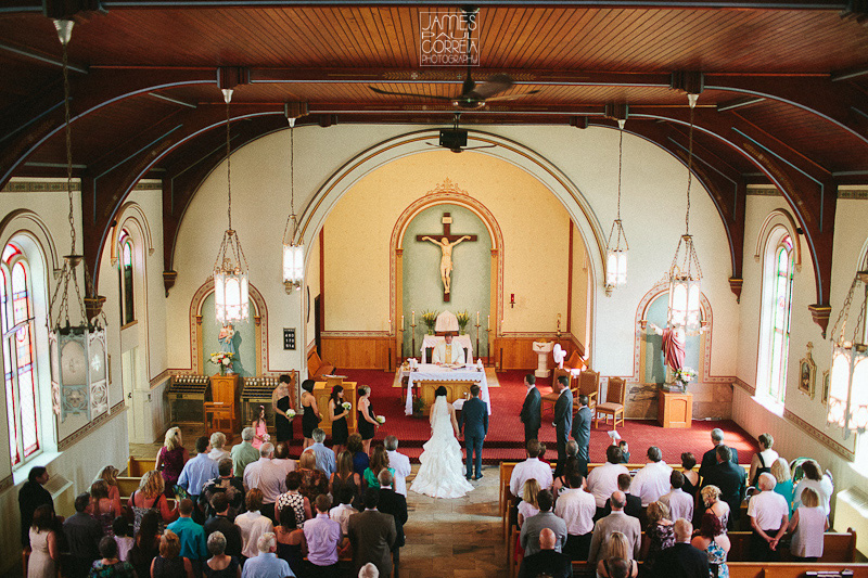 St. Mary's Roman Catholic Church Wedding Photography