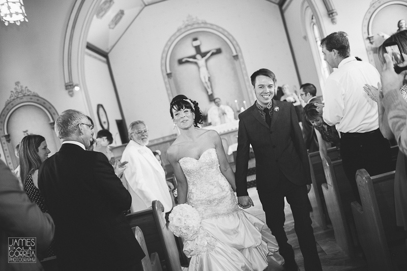 St. Mary's Roman Catholic Church ceremony Photography