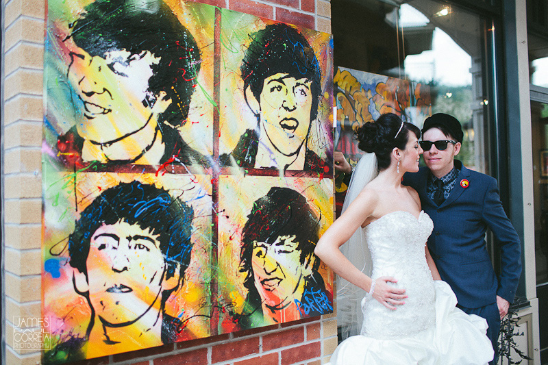 Beatles Wedding Photography