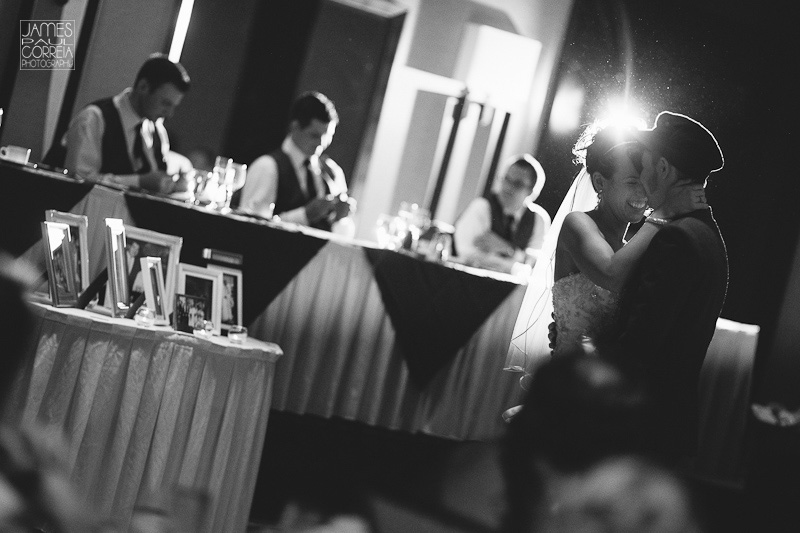 Blue Mountain Collingwood Wedding Photography reception first dance