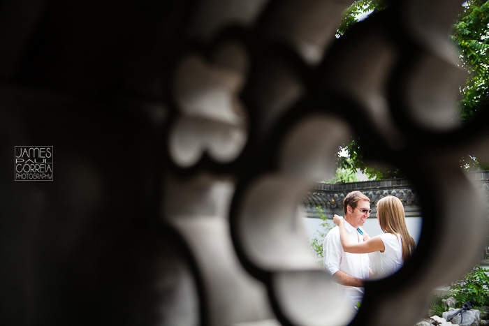 Montreal botanical chinese gardens Wedding Photographer