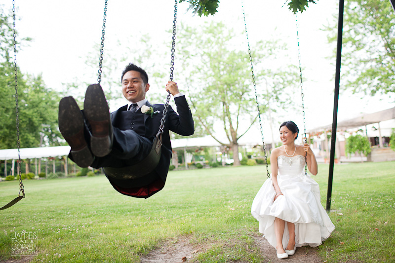 Shangri La swings Toronto Wedding Photographer