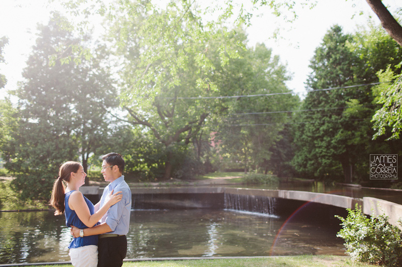 Westmount Park Montreal Engagement Wedding Photographer