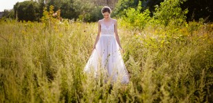 Montreal wedding photographer bridal portrait