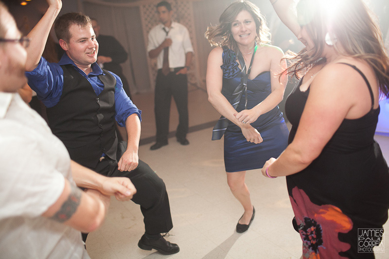 gangnam style dancing Wedding Photographer