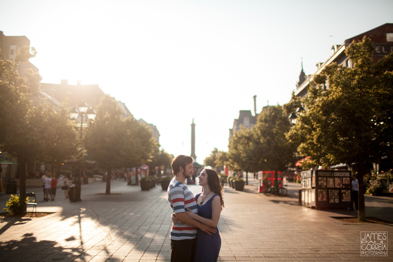 Montreal engagement Couples Session