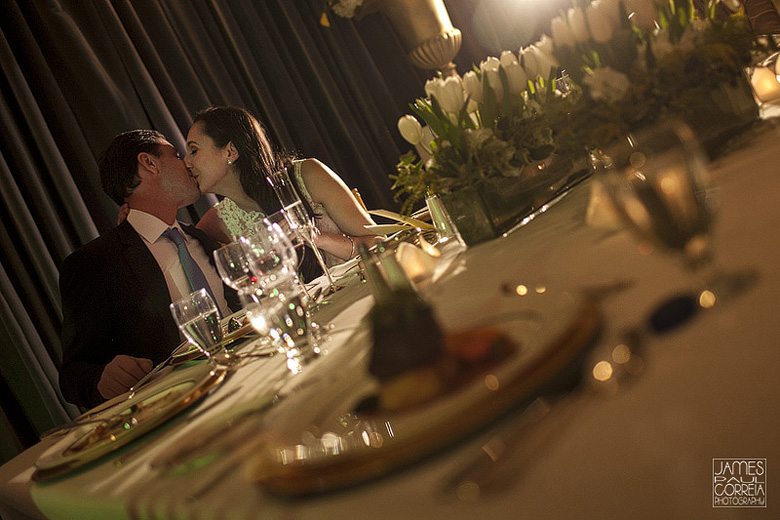 ritz carlton montreal weding reception photo