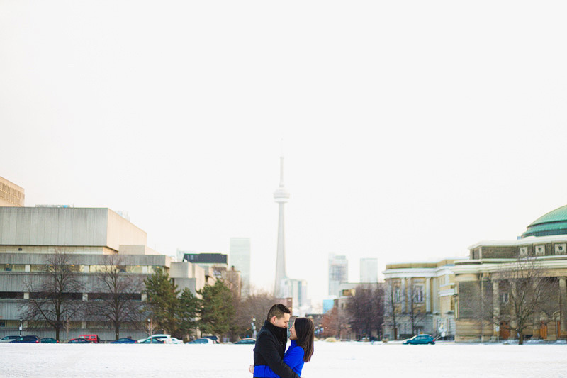 University Toronto Campus Engagement Photographer