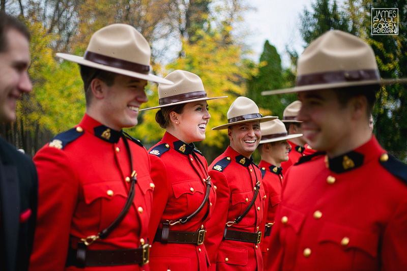 Mountie Wedding Photographer