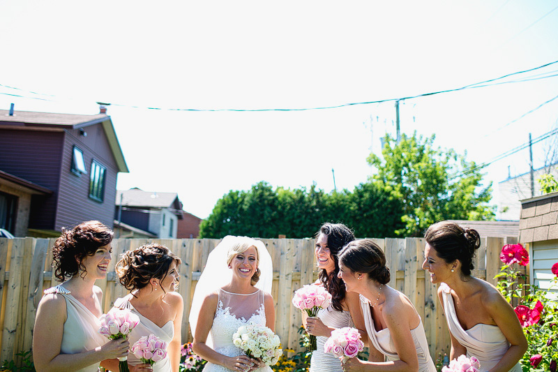 Montreal Wedding Photographer bridesmaids