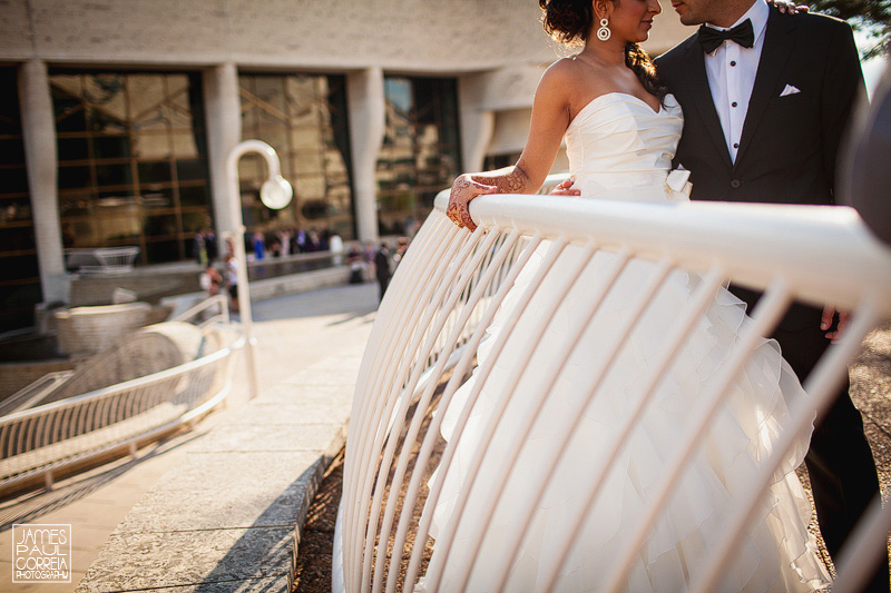 Ottawa Wedding Photographer museum of civilization bride and groom portrait session