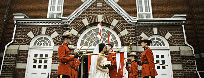 Laura + Edward | Hudson Wedding with a Mountie