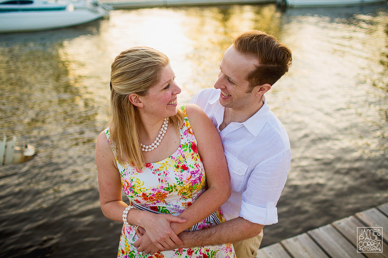 Point claire yacht club wedding photographer
