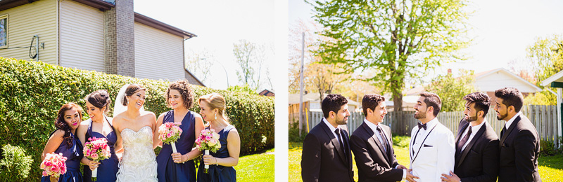 bridal party Wedding Photographer in montreal