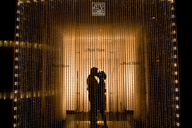 Mont Blanc Montreal Wedding Photographer Sillouette