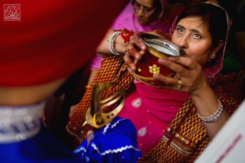 Sikh Montreal Wedding Photographer traditions to enter