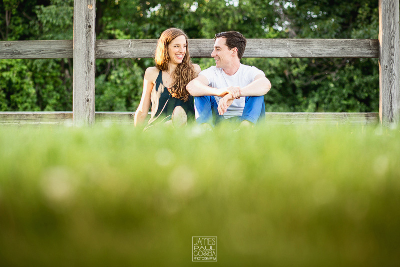 Montreal Stables Engagement Photographer