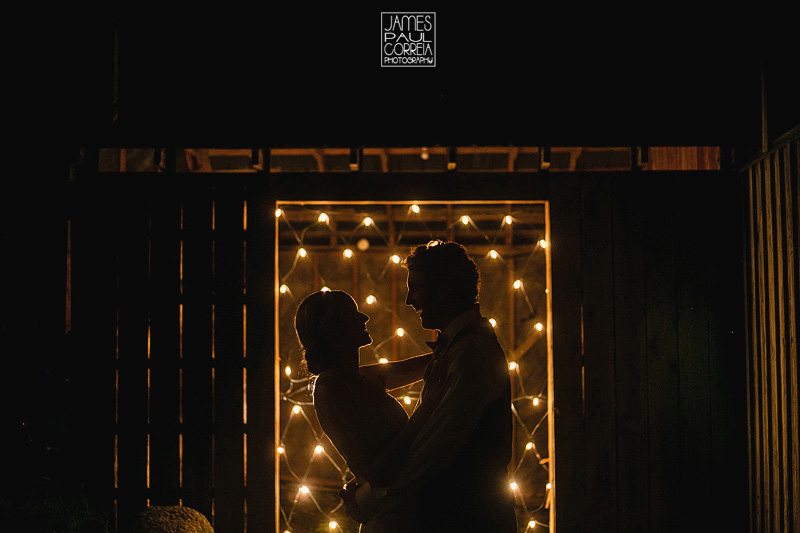 Montreal Wedding Photographer - night silhouette photo