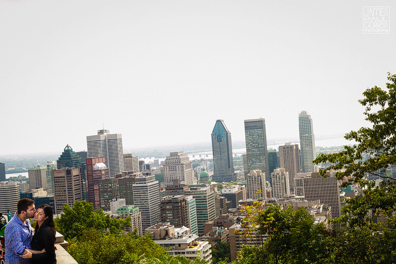 mount royal engagement session