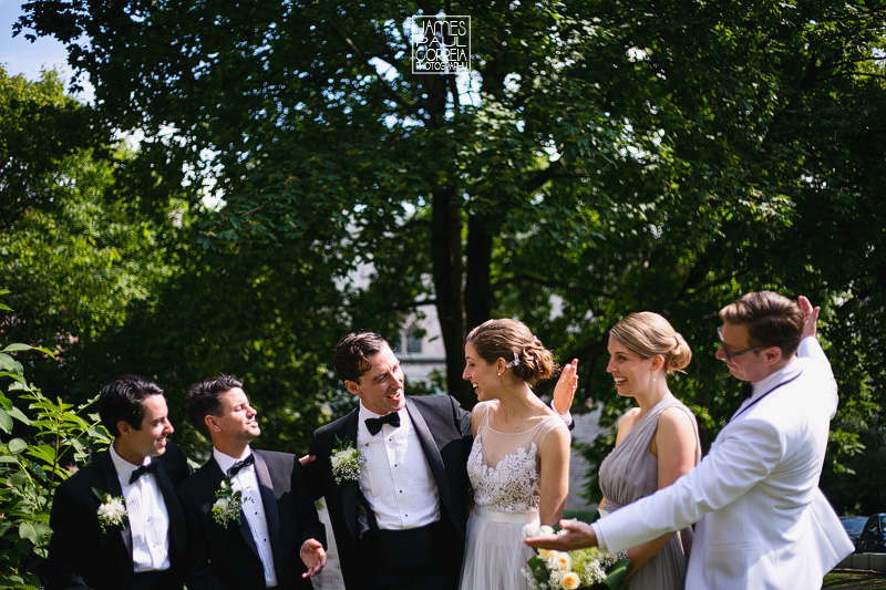 mcgill wedding bridal party