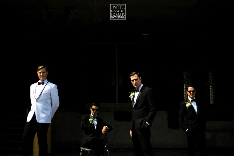 mcgill wedding groomsmen