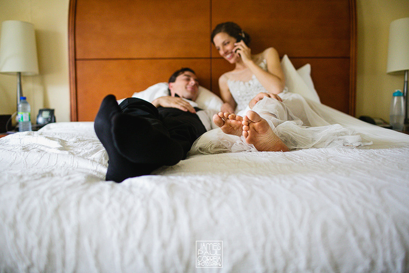 hilton montreal wedding portraits