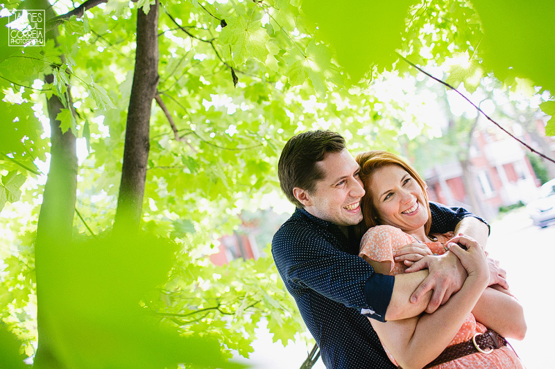 Montreal engagement session photography