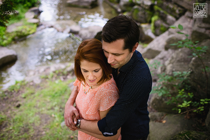 Montreal parc engagement photographer
