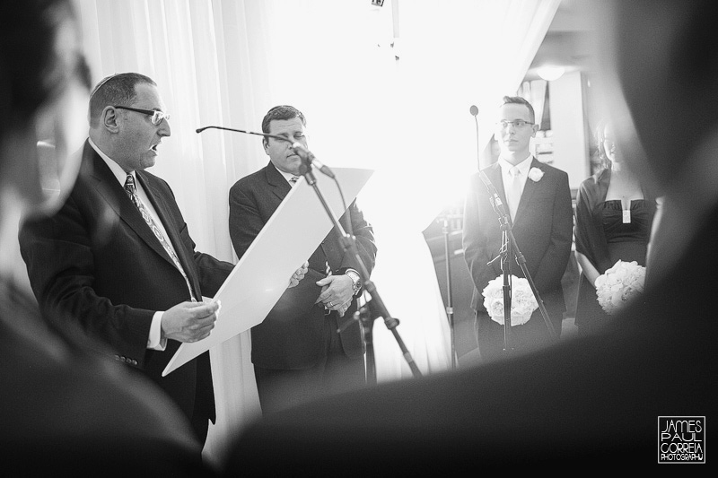 Beth Emeth wedding ceremony photographer