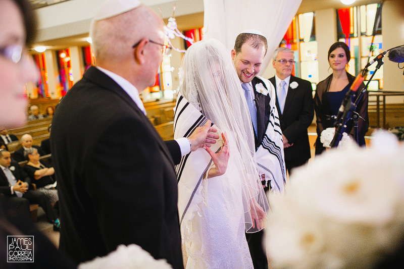 Beth Emeth jewish wedding photographer