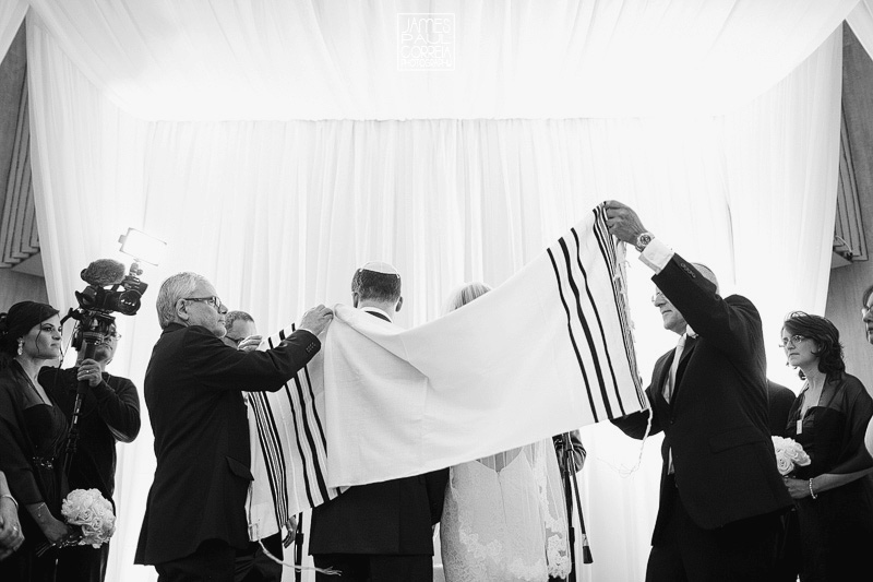 Beth Emeth jewish wedding ceremony photographer